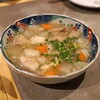 モツ酒場 kogane - 料理写真:白い牛スジ煮込み