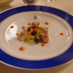 トゥールダルジャン - タラバ蟹とオシェトラキャビア