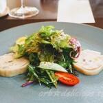 123137419 - 岩手鶏のバロティーヌ サラダ仕立て前菜