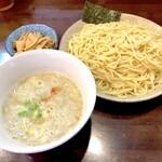藤丸 - 料理写真:塩つけ麺 大盛 380g(850円)&トッピングメンマ(100円)