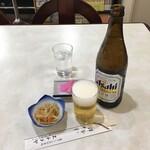エチゴヤ - 瓶ビール550円