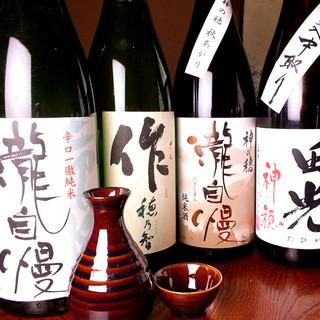 ≪地酒≫お刺身や貝料理など,お酒との相性は抜群◎