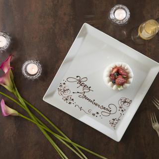 【アニバーサリーディナー】大切な記念日に絶景と美食でお祝い