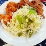 キッチン ジロー - スタミナ焼、唐揚