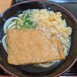 宝製麺所 - きつねうどん 300円