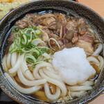 宝製麺所 - すじこんぶっかけうどん 560円