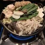 123156785 - モツ鍋