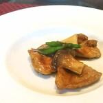 四川飯店 - 豚肉のオイスター炒め