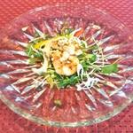 四川飯店 - 前菜〈エビとイカの前菜〉