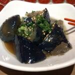 高槻肉寿司 - ナスの煮浸し