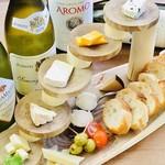 いろいろチーズの盛り合わせ 8種
