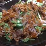 高槻肉寿司 - 和牛サラダ750円