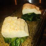 鉄板焼キュイジーヌ バンブー グラッシィ - ●本日 魚の鉄板焼き        1,200円~ サワラは独特の臭みを少し感じます。 連れは気にしてませんでした。 寒締ほうれん草は甘くて美味しいです。