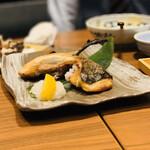 nurukansatouoosaka - 鰤カマ塩焼き