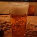 権八 - 生ビール!