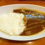 伽哩屋 DEW - シーフードカレー辛口(並¥650)。ブレンドカレーに、海老・イカ・あさり入り