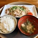 Jozen - 豚もやし定食(大盛)