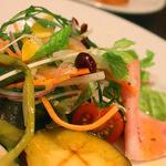 12318468 - 前菜の盛り合わせ~12品目の野菜サラダ