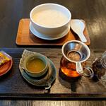 123180276 - 腐竹と普洱茶