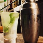 ぐるりや - 日本酒パクチーカクテル