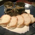 Nappajushi - 牡蠣のハーブオイル漬け