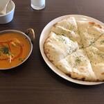 Delhi Heights - Aセットをチーズナンに変更(1060円)