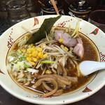らいおん - 料理写真:醤油ネギラーメン