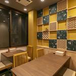京のSAKESORA - 内観写真:2階テーブル席