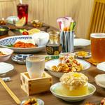 京のSAKESORA - クラフトビール×日本酒×和食メインのお食事
