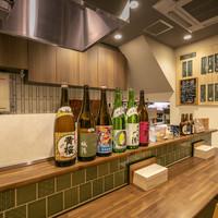 京のSAKESORA-1階カウンター