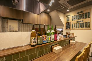 京のSAKESORA - 1階カウンター