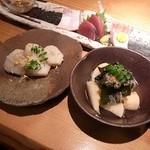 Yuuzansakanaryouri - 里芋味噌ころ・若筍煮