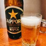 五味鳥 - 札幌黒ラベル  大瓶