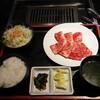 Yakinikunogankochan - 料理写真:カルビ定食