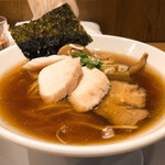 麺屋 薫風 - 大山鶏中華そば(並) 800円
