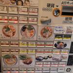 123197284 - 入り口わきの券売機で食券を購入です