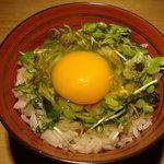 和乃匠 麻布十番1丁目バー - 絶品☆卵かけご飯☆ 癖になる味♡