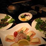 1232867 - 牛ハラミピリ辛焼肉¥780×2、お茶漬け¥!?