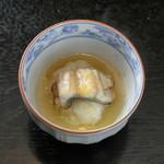 饗応 元 - 鰻の飯蒸し 山葵あん