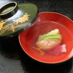 饗応 元 - 鯛と蟹の真蒸椀