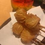 123203827 - 海老とジャガイモの代り串 ¥480 カリッとサクッと...、おいちーー
