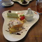 ミーテラス - デザート盛り合わせ