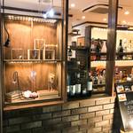 カフェ&シーフードバルべセル - ショーウィンドウ