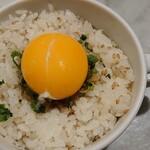 123216942 - 特製TKG(卵かけごはん)¥250
