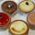 焼きたてチーズタルト専門店 パブロミニ - 料理写真:手前:スタバ 他:パブロ