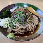 深水庵 - 料理写真:山菜蕎麦(970円)
