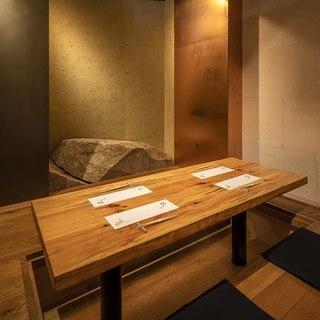 和を感じられる完全個室【2~12名様対応・全8部屋】