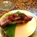回転鮨 錦 - 熊野牛(紀州ブランド和牛)