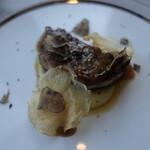 123221928 - フォアグラのポワレ じゃが芋のピュレ