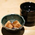 炭火原始焼と蔵元焼酎の店 のどぐろの中俣 - わらびもち